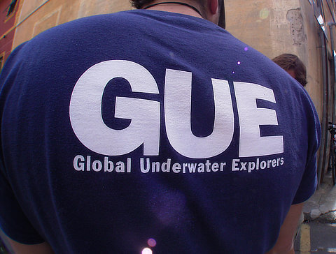 Corsi subacquei GUE di ogni livello